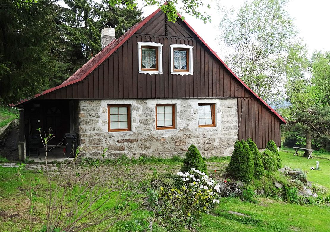 Apartments Bedrichov - cottage 312 - summer season - accommodation Bedrichov