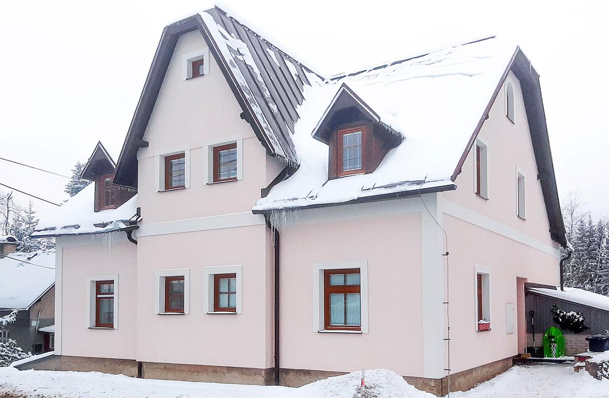 Apartments Bedřichov 1718 - accommodation Bedřichov - cottage 1718 - accommodation Jizera Mountains - winter season Bedřichov