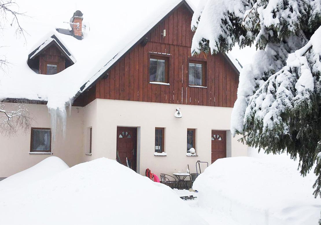 Unterkunft Bedrichov - Hütte 1718 - Ferienwohnungen Bedrichov Hütte 1718 - Isergebirge Urlaub